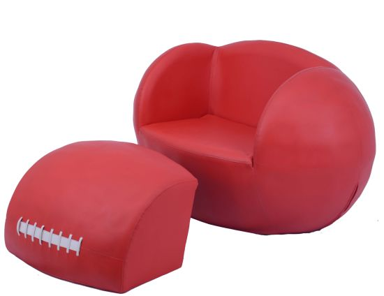 PVC Leather Soccer Ball Chair Furniture (SF 129L)