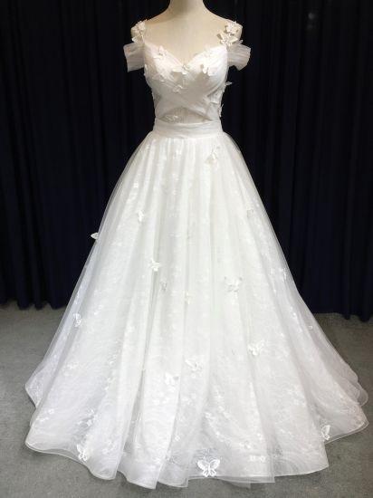China Aoli Off White Erfly Wedding Dress Beach