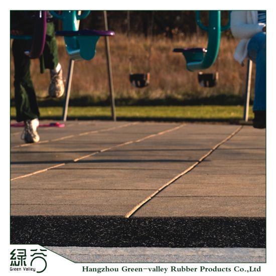 Customized Sports Flooring Multi Colours Children Playground EPDM Flooring Mat
