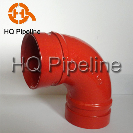 UL/FM Ductile Iron Grooved Rigid/Flexible Couplings and Pipe Fittings pictures & photos