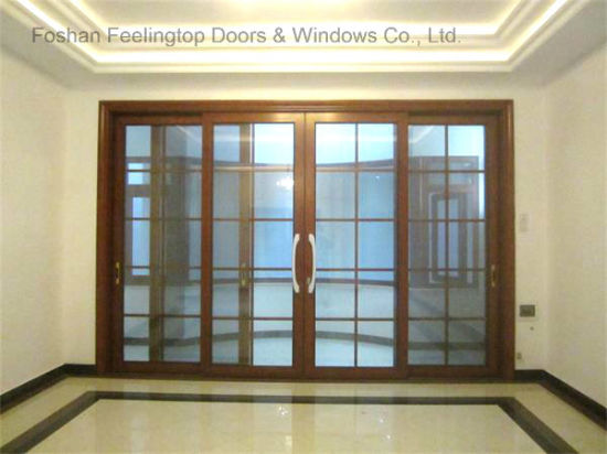 Front Door Design Heavy Duty Glass Automatic Sliding Door (FT D190)