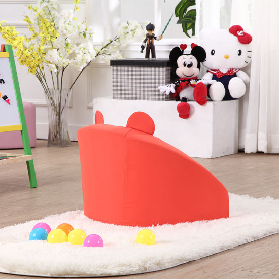 Small Modern Sofa PVC Foam Sofa for Kids pictures & photos
