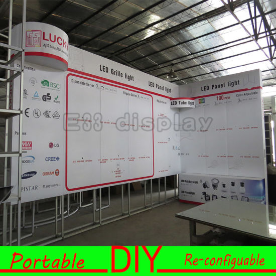 Exhibition Stand Frame : China hot selling advertising aluminum exhibition stand frame