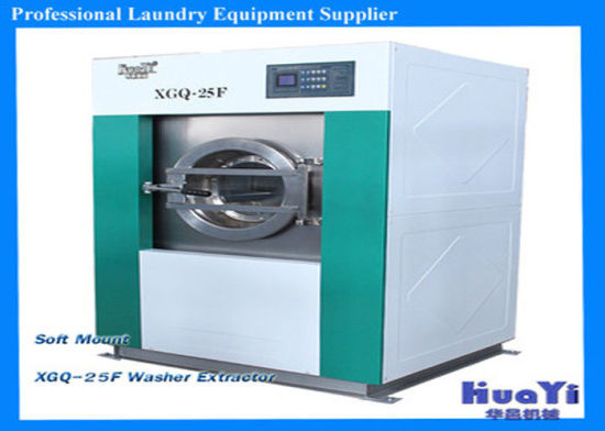 High Capacity Industrial Washing Machine Stainless Steel Laundry Washer Extractor