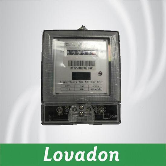 Single-Phase Electronic Watt-Hour Meter (DDS226)