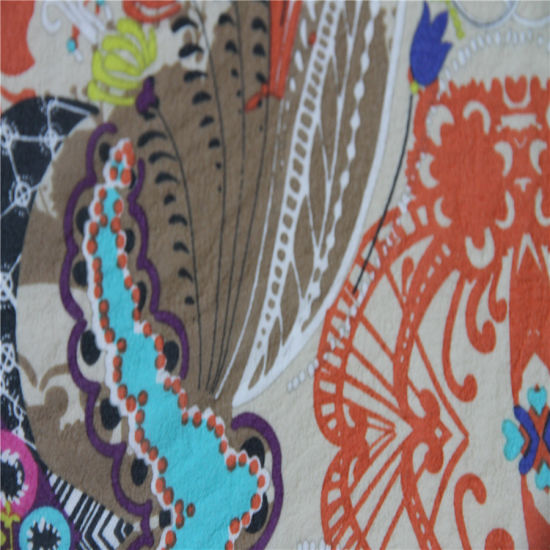 Nature Fabric 100% Printing Georgette Silk pictures & photos