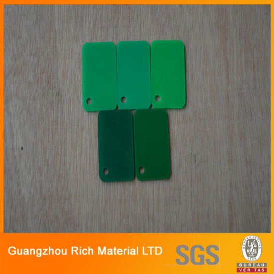 Tortoise Green Color Cast Acrylic Plastic Sheet