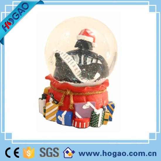 Christmas Base.China Christmas Snow Globe Red Base For Home Decortation