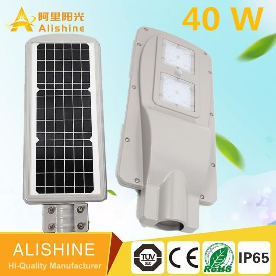New Design IP65 Outdoor Product Solar Street Light 40W LED pictures & photos