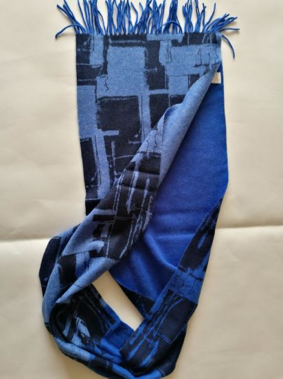 Wool Woven Printed Scarf