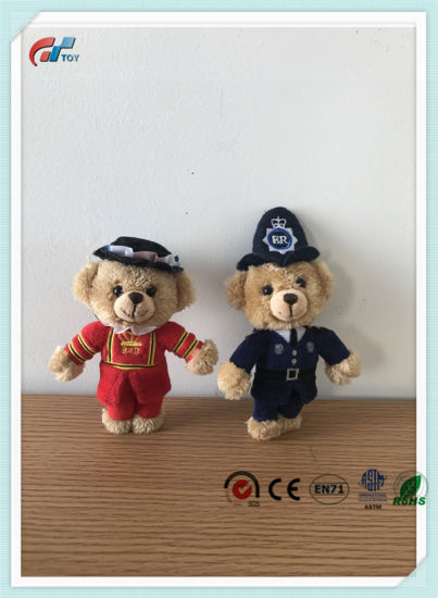 Cute Small Size Female & Male Teddy Bear Stuffed Customized Toy Plush