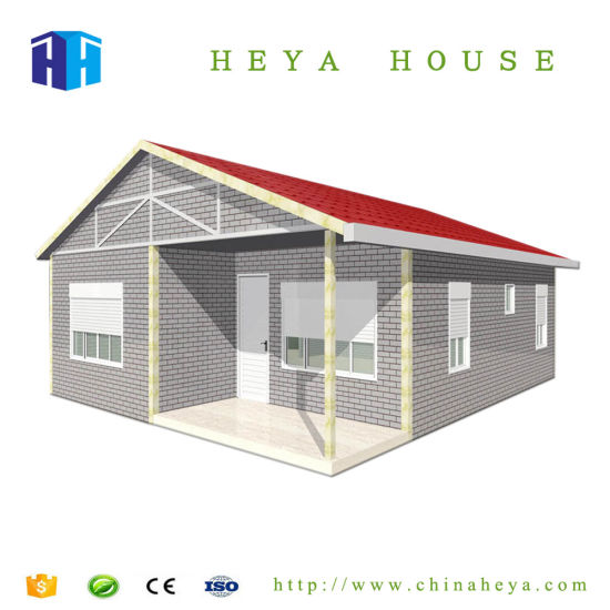 China Cheap Prefabricated Steel Frame House with PVC Hanging Board ...