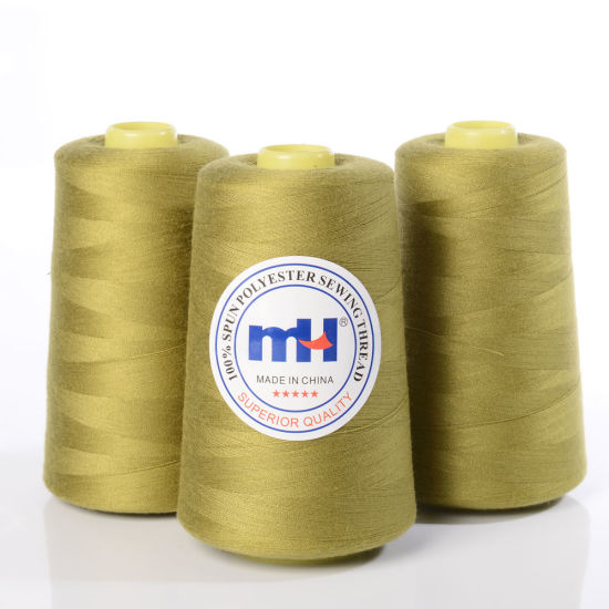 China Plastic Roll 40% Spun Polyester Sewing Thread 4040 40s40 For Classy Polyester Thread For Sewing Machine