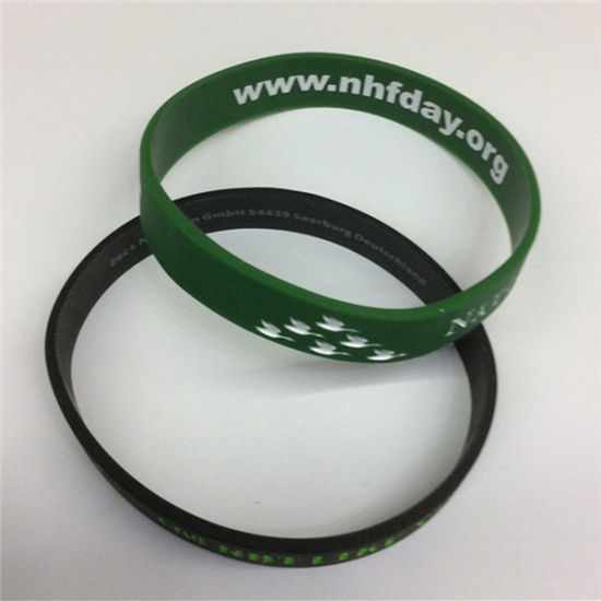 Promotional Gifts Good Price Custom Rubber Bracelet pictures & photos