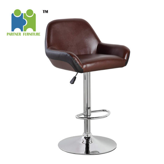 Astonishing Marrow Pu Leather Modern Design Swivel Adjustable Seat Height Home Kitchen Bar Stool Chair Machost Co Dining Chair Design Ideas Machostcouk