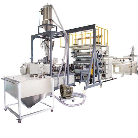 1220mm Width Plastic Marble PVC Sheet Arificial Board Panel Extruder Making Machine Line