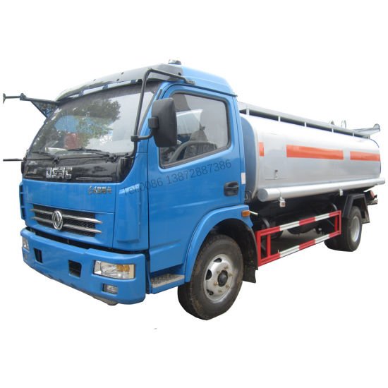 Dongfeng 4X2 6000liters 7000liters 120HP Oil Tank Truck Fuel Truck for Sale