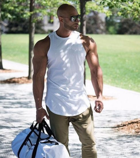 a78d7e2c59f892 Custom Newest Men Gym Tops Sleeveless Vest Fitness Clothes pictures   photos