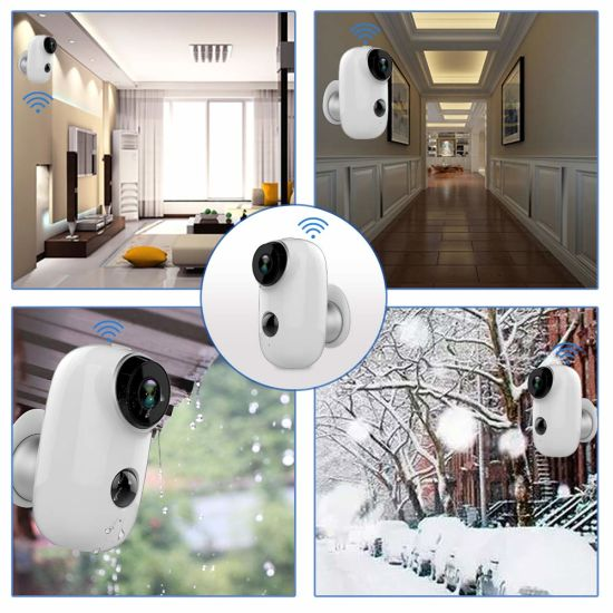 China CCTV Outside Door APP WiFi Connect Smart Camera