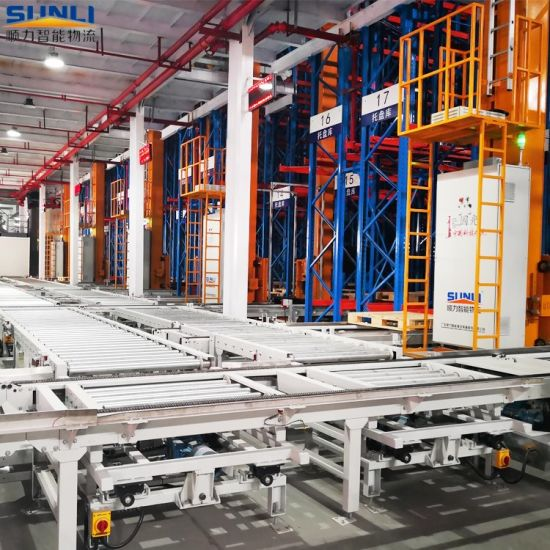 Warehouse Asrs Automated Storage Rack for Logistics Solution