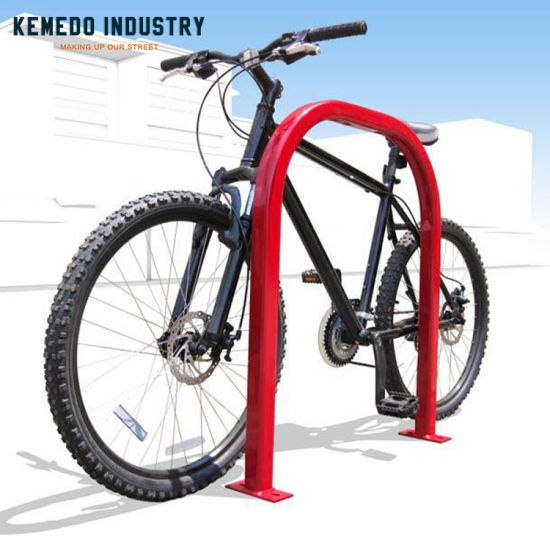 China Good Quality Outdoor Red Single Bike Floor Stand Bicycle