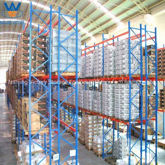 Heavy Duty Industrial Warehouse Steel Storage Pallet Rack System