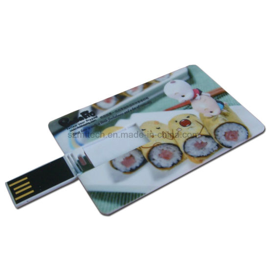 Hot Selling 8GB Name Card Pen Drive USB Manufacturer pictures & photos
