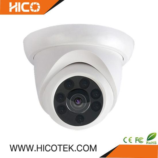 4MP Infrared SMD LED IR Array Metal 20m Webcam Dome CCTV Video Security IP Camera