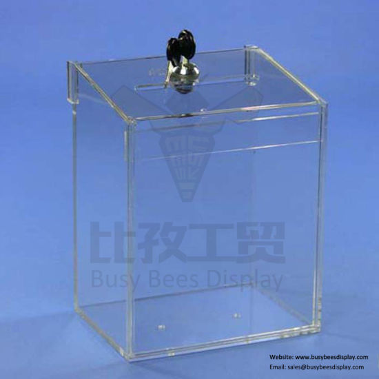 New Design Acrylic Material Acrylic Collection / Coin Display Box