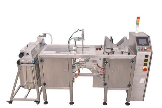 Cup Measuring Filling Machine for Preformed Bags
