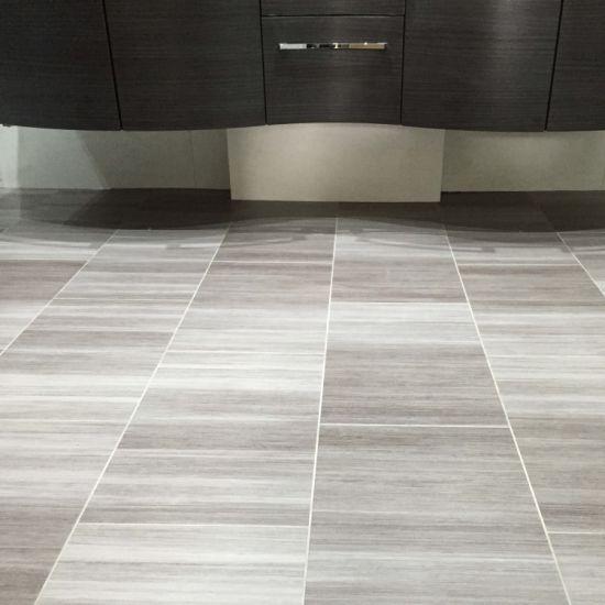 Waterproof Glue Down Dry Back Lvt Kitchen Floor Concrete Look