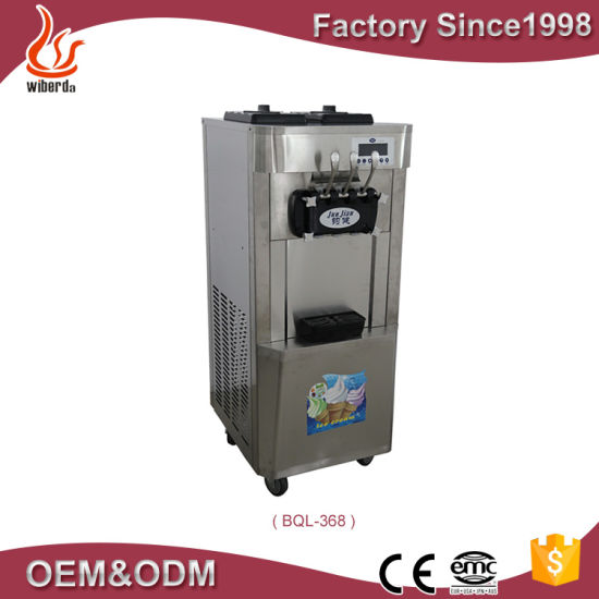 3 Flavor Air Pump Thailand Ice Cream Making Machine for Wholesales