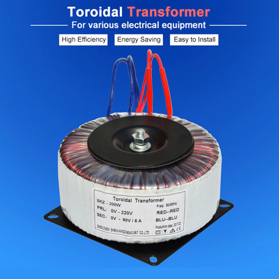Ce RoHS Approved 45 0 45V Toroidal Transformer