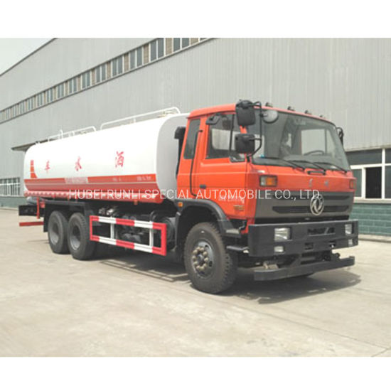 2019 Hot Sale Dongfeng Sprinkler Truck 6X4 10t to 20tons Water Tank Truck