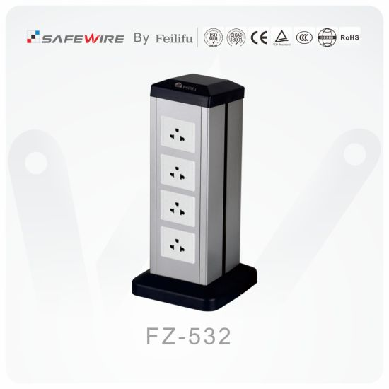 Commonly Used Office Mini-Columns Table Socket