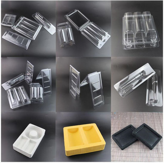 OEM PP/PVC/PET Plastic Blister Packaging Clamshell Boxes