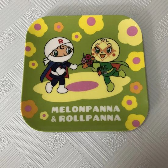 Customized Logo Eco-Friendly Plastic Children′s Melamine Dinner Plate pictures & photos