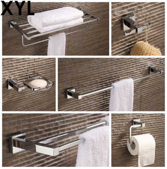 Modern Square German Style Bathroom Set, German Made Bathroom Accessories