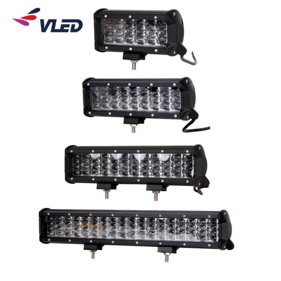 Car 108W 288W 468W 22 Inch 12V 4X4 Four Row 6D Slim LED Light Bar for Trucks