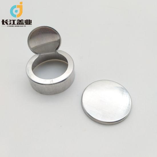 Pharmaceutical Easily Torn Aluminum Cap, Easy Open End
