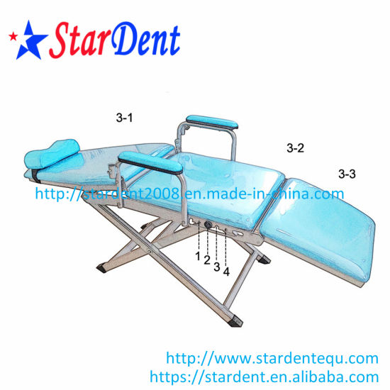 Dental Simple Type Folding Chair Portable Dental Unit pictures & photos