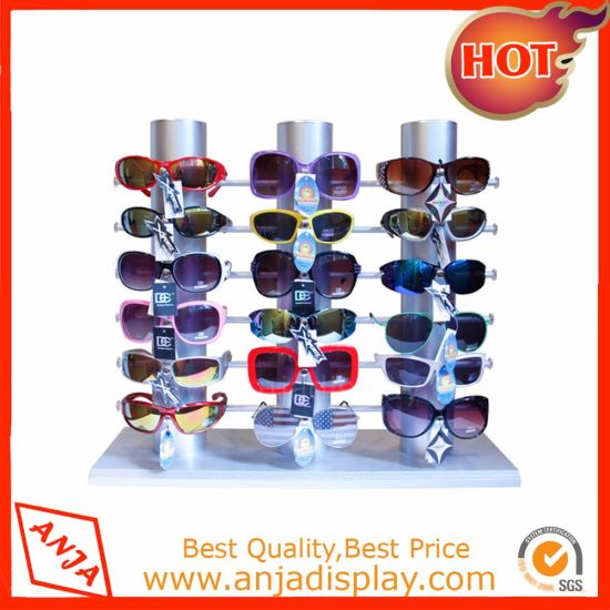 Customized Made Acrylic Hang Glasses Display Stand for Store pictures & photos