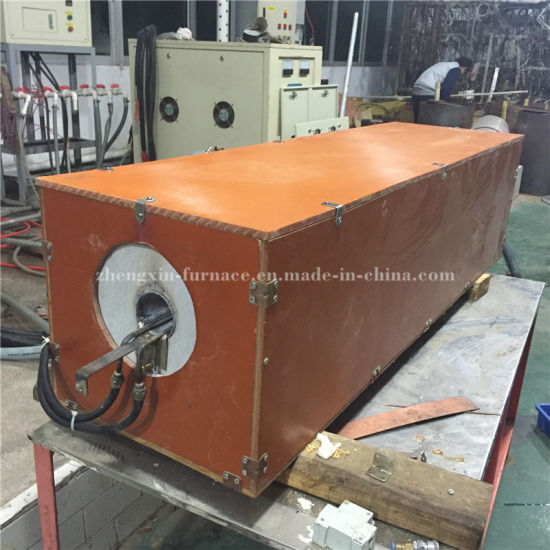 Copper Rod Hot Forging IGBT Induction Heating Machine pictures & photos