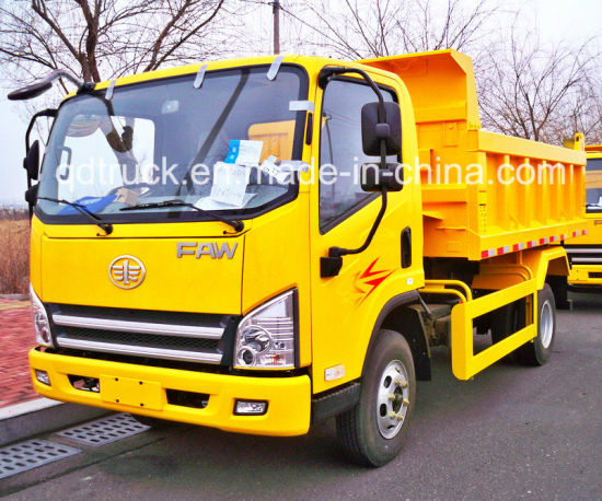 Sinotruk FAW Small Light Duty Mini Cargo Tipping Dumper/ Lorry Tipper/ Dump Truck pictures & photos