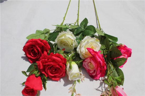 China wholesale multicolor rose silk artificial flowers for wedding wholesale multicolor rose silk artificial flowers for wedding decoration mightylinksfo