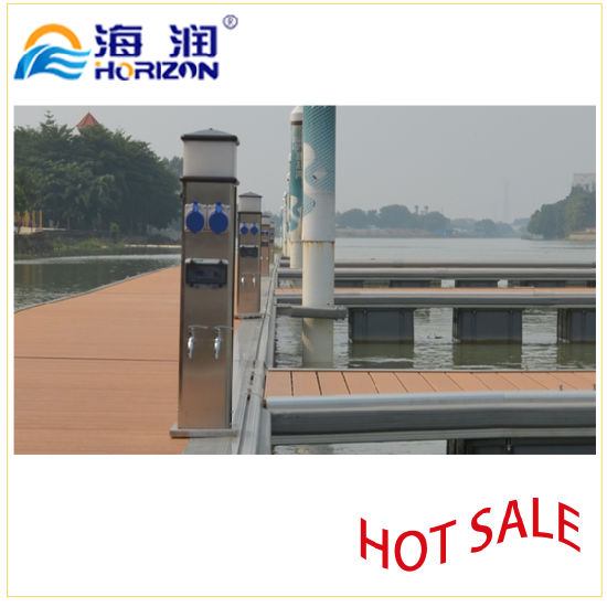 High Quality Dock Power and Water Pedestal Made in China/Marina pictures & photos
