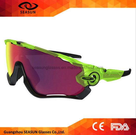 3ab48e68ee 2017 Fashion Sports Bicycle Eyewear Goggles Men Shades Cycling Sunglasses