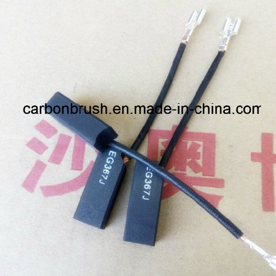 China Graphite Carbon Brush for DC Motor EG367J pictures & photos