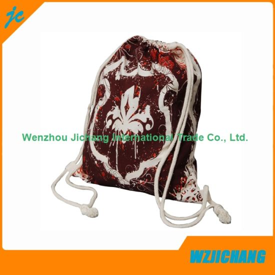1616b77bf51f China Small Cotton Drawstring Bag