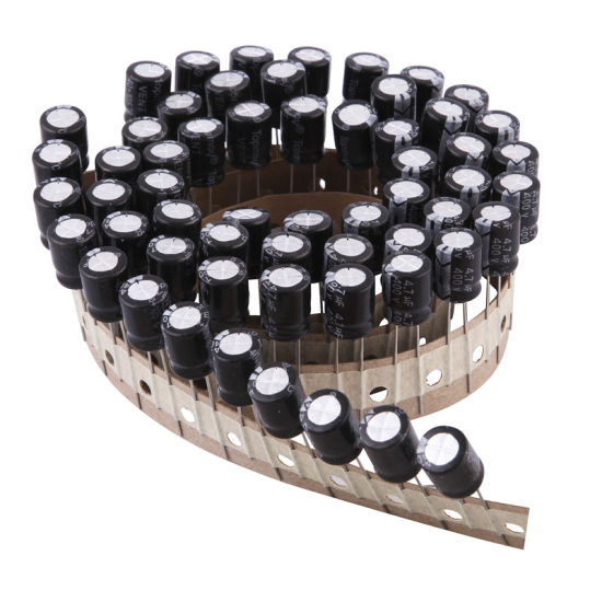 Low Leakage Aluminum Electrolytic Capacitor 105c pictures & photos